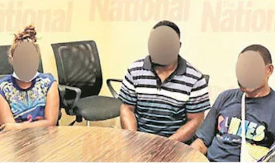 Three detained by PNG police