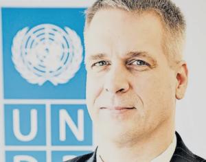 UNDP's Dirk Wagener