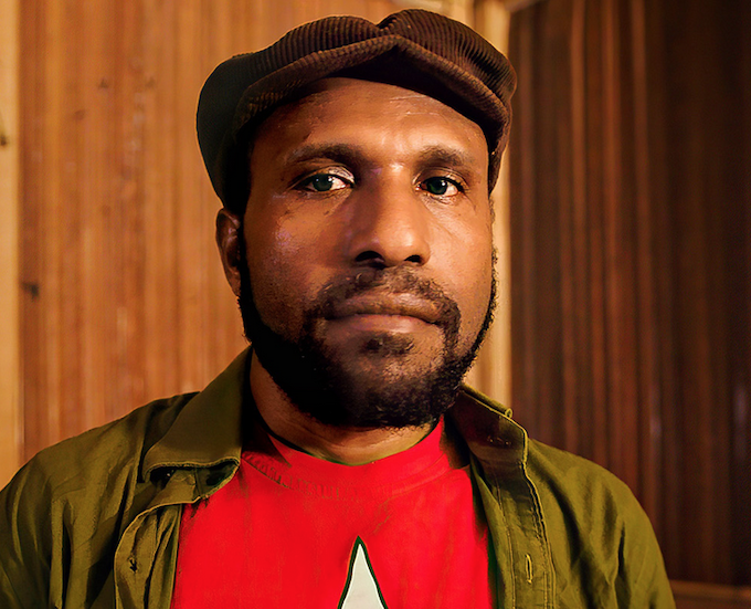 Papuan leader Victor Yeimo