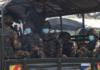 Troops of the Myanmar military