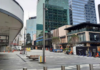 A deserted central Auckland during August 2021 lockdown