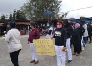Indonesian Medical Association (IDI) Papua pays tribute to the killed nurse Gabriella Meliani