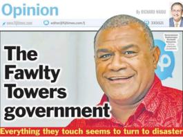 Sacked Fiji Bureau of Statistics Kemueli Naiqama