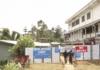 Mt Hagen Hospital's isolation unit