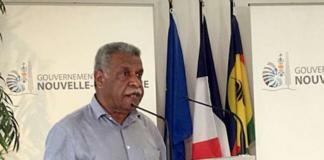 NZ President Louis Mapou