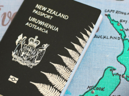 Aotearoa passport cover