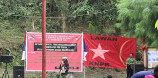 KNPB spokesperson Ones Suhuniap