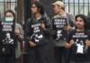Papuan political prisoners protest