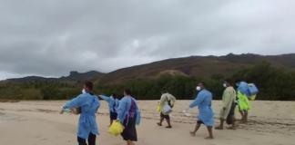 Remote swabs work in Fiji