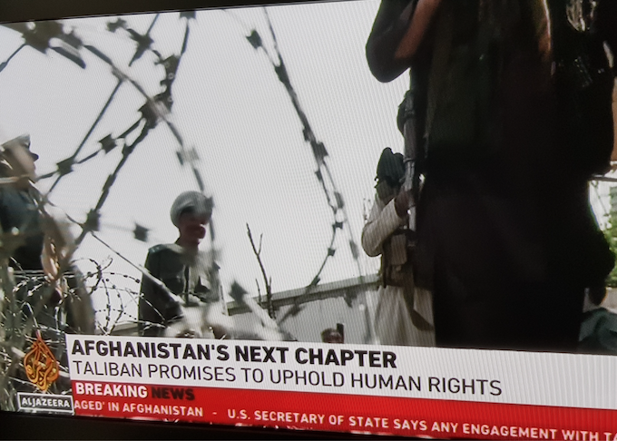 Next chapter in Afghanistan