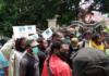 Papuan protesters in Jayapura 300821