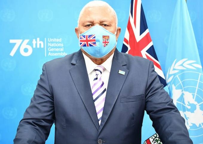 Prime Minister Voreqe Bainimarama