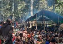 Bintang Mountains refugees