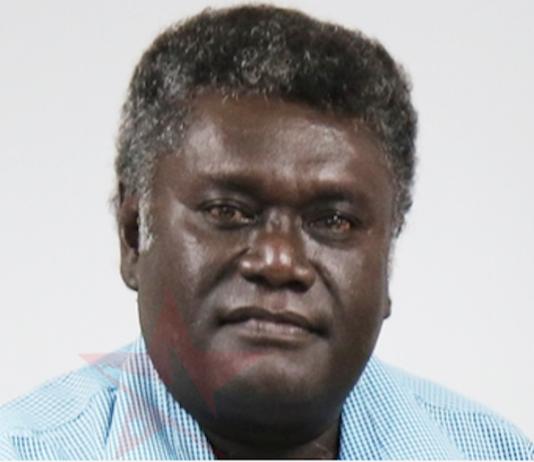 Western Province Premier David Gina