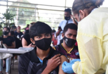 The Fiji covid vaccine rollout was recently extended to the 15-17 age bracket