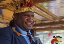 PNG Prime Minister James Marape