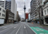 Downtown Auckland under lockdown