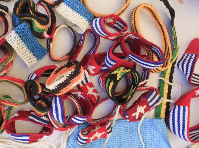 Traditional Papuan bracelets