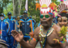 Papuans welcome Indonesian Games torch