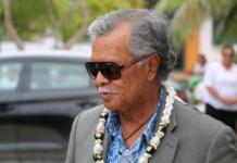 Pacific Islands Forum Secretary-General Henry Puna