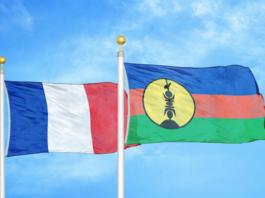 Kanaky referendum flags